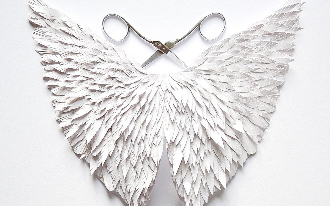 Papercut wings