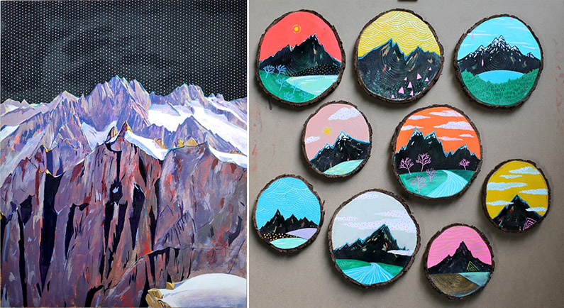 Cathy McMurray Paintings on wood