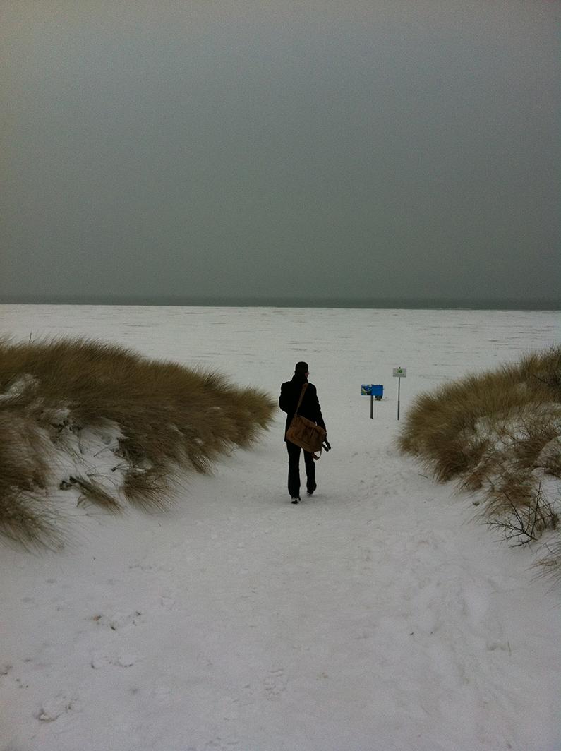 Birder-snow