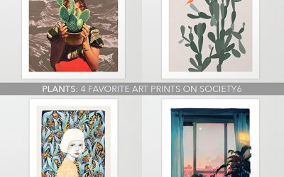 Plants: 4 favorite art prints on society6